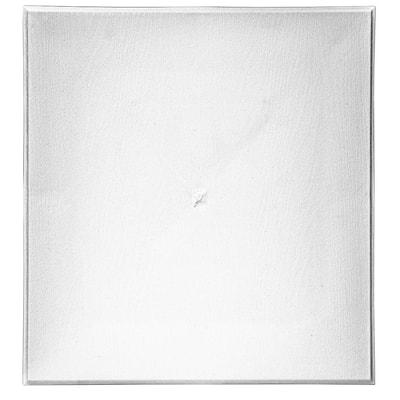 15.3 in. x 16.3 in. White Polypropylene Meter Base Block