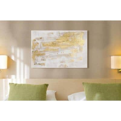 """36 in. x 24 in. 'Pure Love"""" by """"Oliver Gal"""" Printed Framed Canvas Wall Art"""
