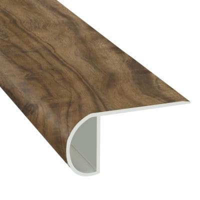 Tiger Acacia 1.03 in. T x 2.23 in. W x 94 in. Length Overlap Vinyl Stair Nose