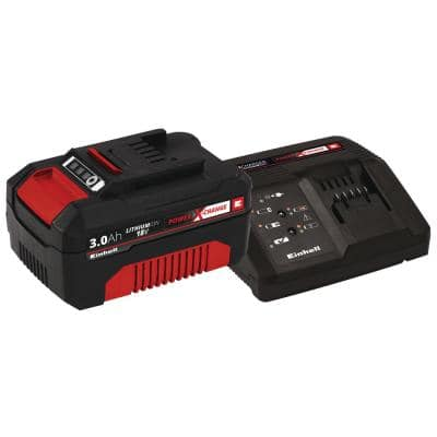 Power X-Change 18-Volt 3.0-Ah Lithium-Ion Starter Kit, Includes Battery and Fast Charger