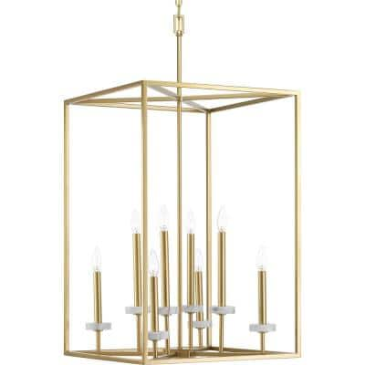 Palacio Collection 8-Light Vintage Gold Pendant