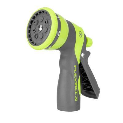 ZillaGreen Heavy-Duty 7-Pattern Adjustable Pistol Grip Garden Hose Nozzle