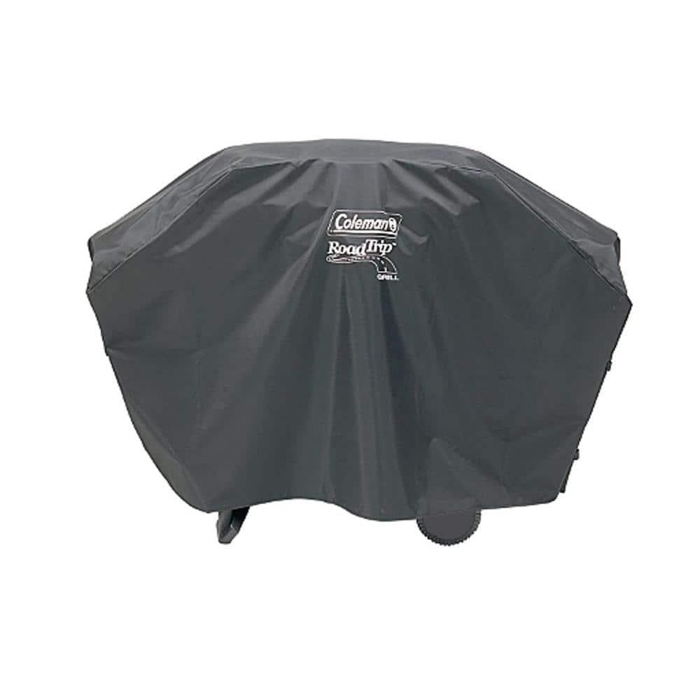 Grill Cover Rolling Fits Coleman Roadtrip LX Series noir avec devant poche filet