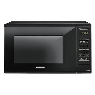 1.3 cu. ft. Countertop Microwave in Black with Genius Cooking Sensor