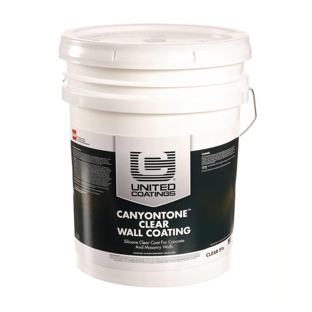 CanyonTone 5 Gal. Clear Wall Coating Masonry Sealer