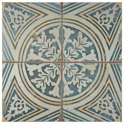 Take Home Tile Sample - Kings Flatlands FS- 9 in. x 9 in. Ceramic Floor and Wall