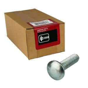 1/4 in.-20 x 2 in. Zinc Plated Carriage Bolt (100-Pack)