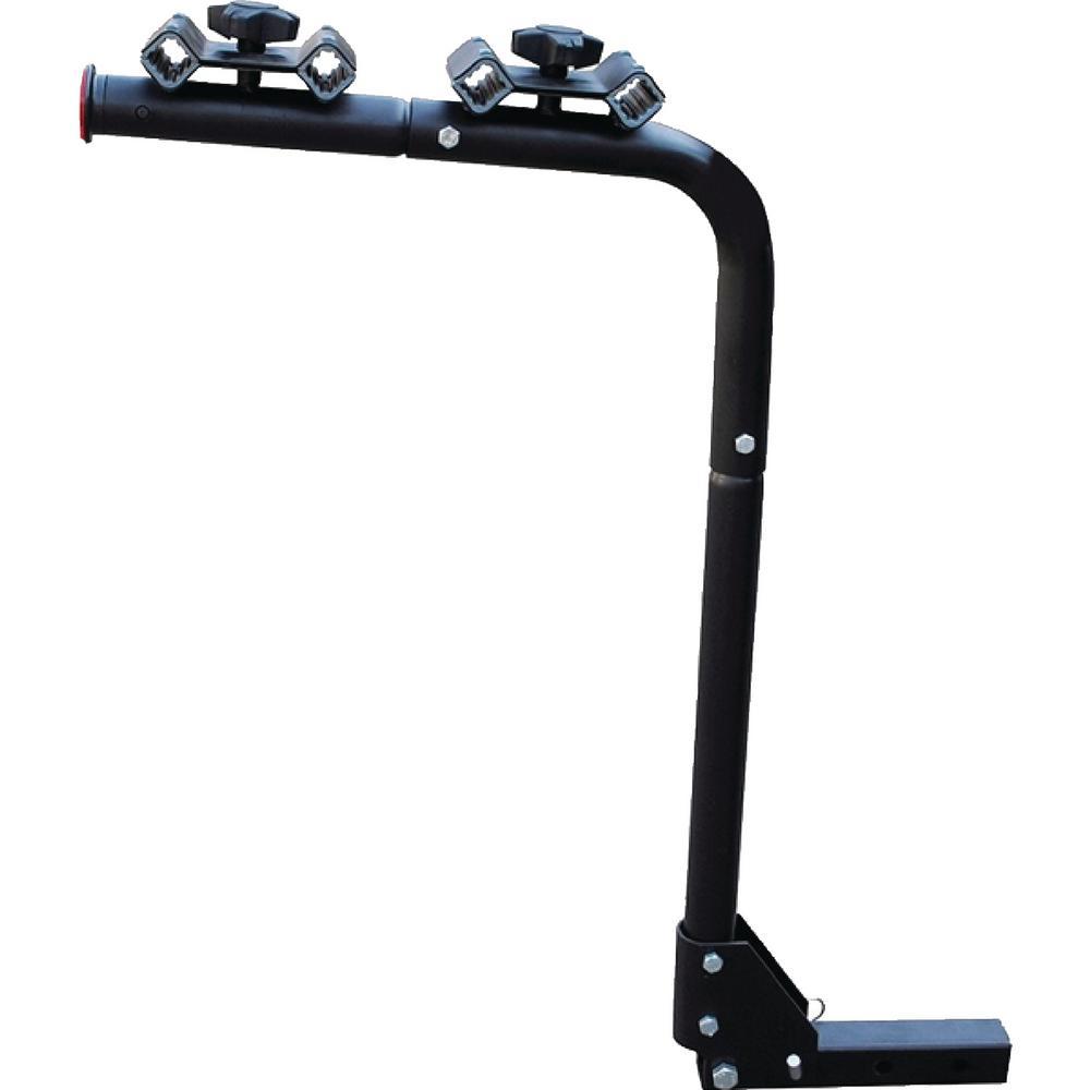 4-Bike Capacity Post Mount Bike Rack