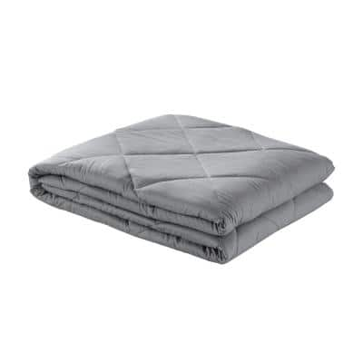 Davu Grey Weighted Blanket 15 lbs. 48 in. x 72 in.