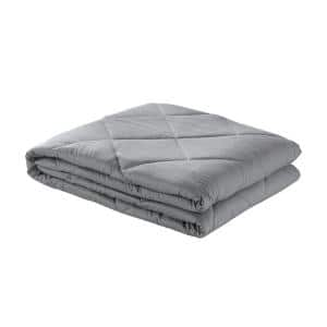 Davu Grey Weighted Blanket 20 lbs. 60 in. x 80 in.