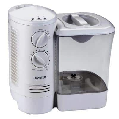 2.5 Gal. Warm Mist Humidifier with Wicking Vapor System