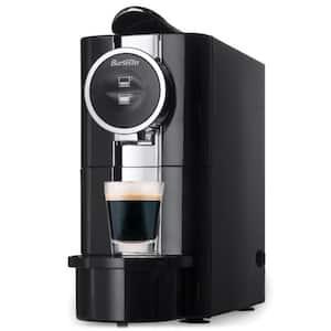 Black Stainless Steel Single Serve Espresso Machine (1 CUP)