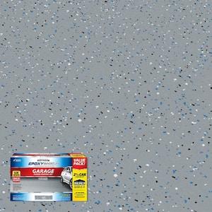 240 oz. Gray High-Gloss 2.5-Car Garage Floor Kit