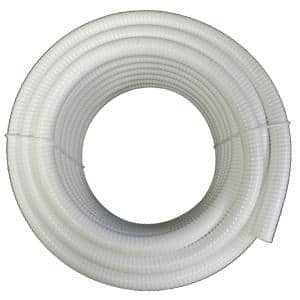 2 in. x 10 ft. White PVC Schedule 40 Flexible Pipe