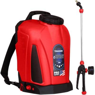 4.75 Gal. Battery Powered Backpack Sprayer for Pest Control and Disinfectants