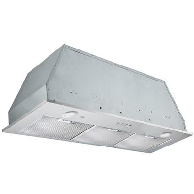 Inserta Elite 36 in. Insert Range Hood with LED in Stainless Steel
