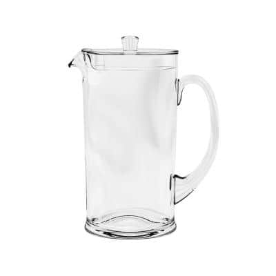 78 oz. Cordoba Clear Pitcher with Lid (Set of 1)