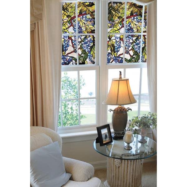 Artscape 24 In X 36 In Wisteria Decorative Window Film 01 0106 The Home Depot