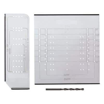 Align Right Cabinet Hardware Installation Template Set