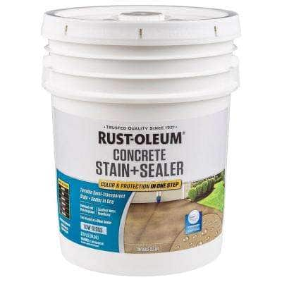 5 -gal. Clear Low Gloss Concrete Water Repellent Sealer