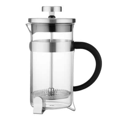 Essentials 2 Cups Stainless Steel Coffee/Tea Plunger
