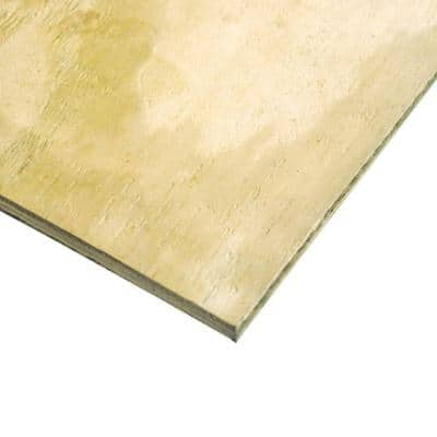 15/32 in. x 4 ft. x 8 ft. CCX Southern Yellow Pine Ground Contact Pressure-Treated Plywood