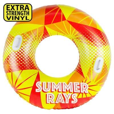 54 in. Summer Rays Inflatable Tube Pool & Sport Float
