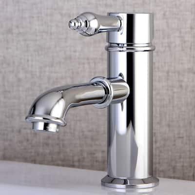 Paris Single Hole 1-Handle Mid-Arc Bathroom Faucet in Polished Chrome