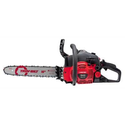 16 in. 42 cc 2-Cycle Lightweight Gas Chainsaw with Automatic Chain Oiler