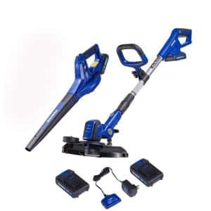 20-Volt Max Cordless Lithium-ion String Trimmer/Edger and Blower Combo Kit (2-Tool)