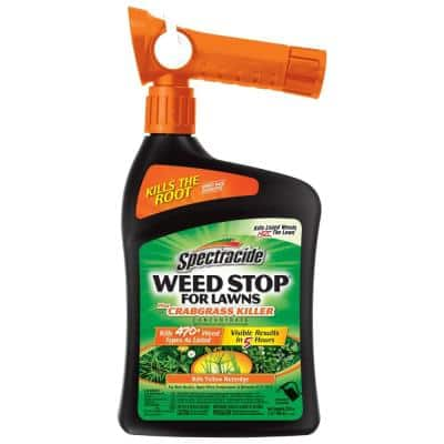 Weed Stop 32 oz. Ready-to-Spray Concentrate for Lawns Plus Crabgrass Lawns
