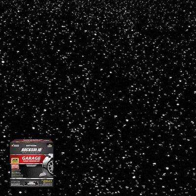90 oz. Black Polycuramine 1 Car Garage Floor Kit (2 Pack)