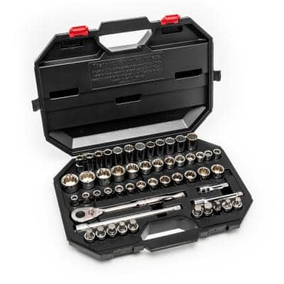 1/2 in. Drive Mechanics Tool Set (52-Piece)