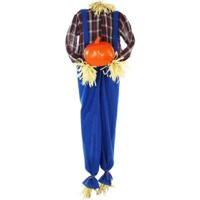 60 in. Touch Activated Animatronic Scarecrow