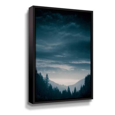 Blue Mountains IV' by  PhotoINC Studio Framed Canvas Wall Art