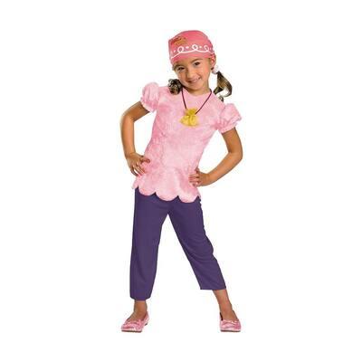 Disney Small Girls Jake and the Neverland Pirate Kids Costume