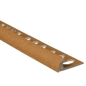 Novocanto Maxi Wood 3/8 in. x 98-1/2 in. Composite Tile Edging Trim