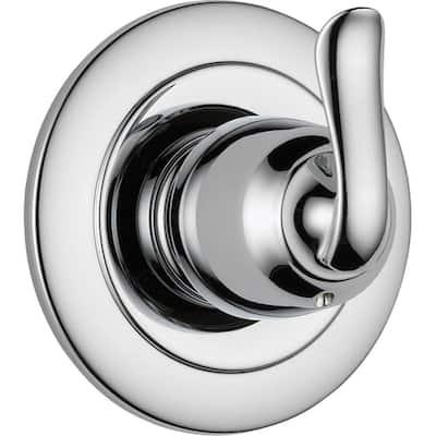 Linden 1-Handle 3-Function Shower Diverter Valve Trim Kit in Chrome (Valve Not Included)