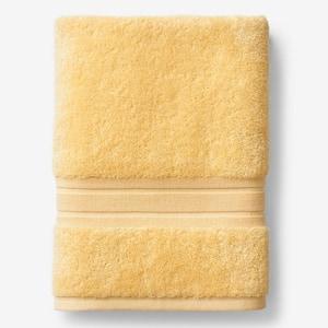 Company Cotton Lemon Solid Turkish Cotton Bath Sheet