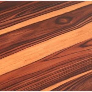 African Wood Dark 6 in. W x 36 in. L Luxury Vinyl Plank Flooring (24 sq. ft. / case)