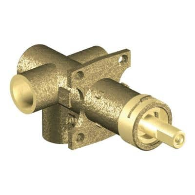 Brass Rough-in 3-Function Transfer Shower Valve - 1/2 in. CC Connection