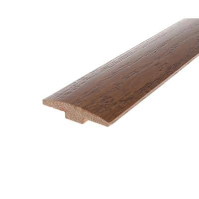 Solid Hardwood Adelle 0.28 in. T x 2 in. W x 78 in. L High Gloss T-Mold