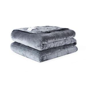 Grey Queen 30 lbs Weighted Comforter