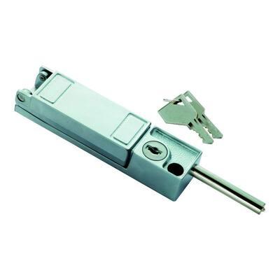 Chrome Keyed Patio Door Lock