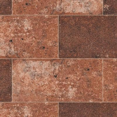 Capella Red Brick 5 in. x 10 in. Matte Porcelain Floor and Wall Tile (5.55 sq. ft./Case)