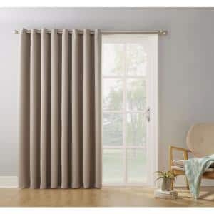 Stone Thermal Extra Wide Blackout Curtain - 100 in. W x 84 in. L