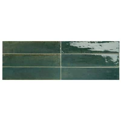 Remedy Herbal 2-3/8 in. x 9-5/8 in. Glazed Porcelain Subway Wall Tile (5.42 sq. ft./Case)