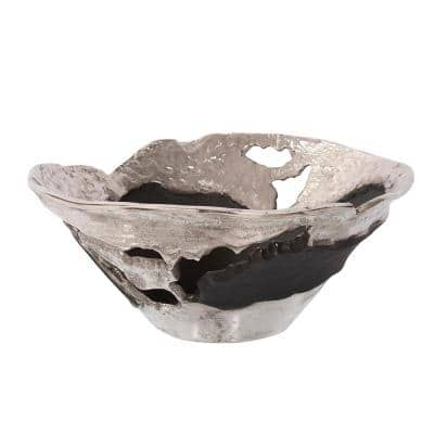 Contemporary Nickel and Black Bowl, Small