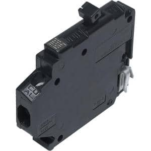 New Challenger 15A 1/2 in. 1-Pole Type A Replacement Right Clip Thin Circuit Breaker