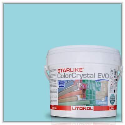 Starlike EVO Epoxy Grout 810 Verde Capri 2.5 kg - 5.5 lbs.